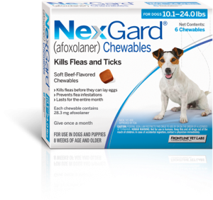 Nexgard chewable tablets